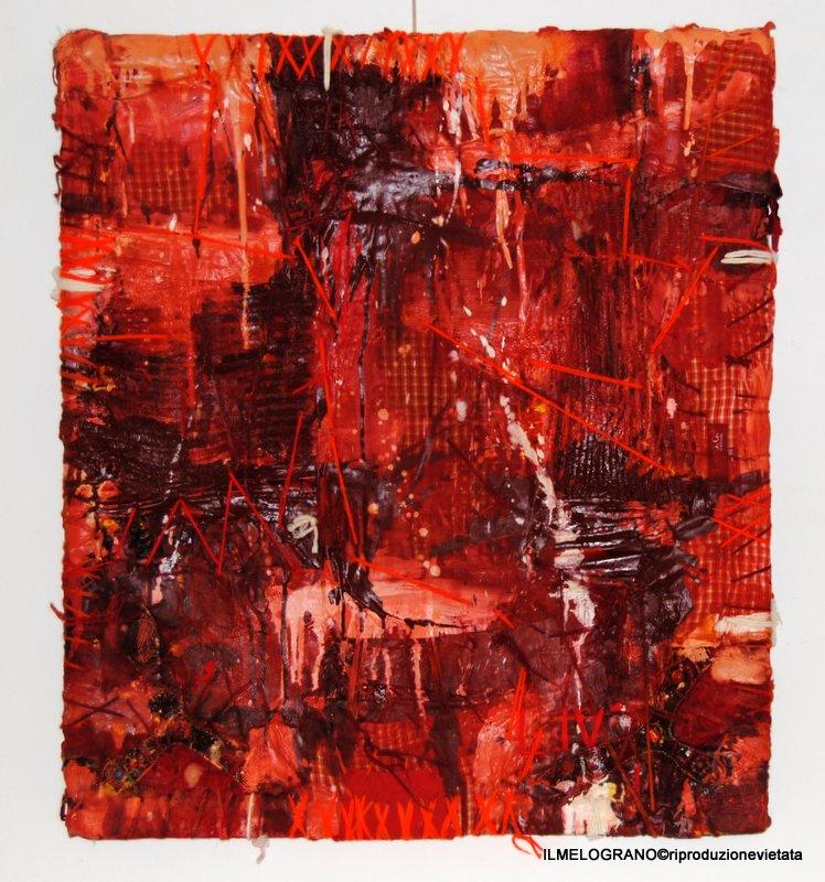 Luigi Quarta Muro rosso, 2008 € 800 - Galleria d' Arte Livorno - Quadri online
