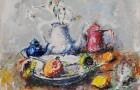 Federico Cresci  Vaschetta con due girasoli € 250 Pick Art € 150