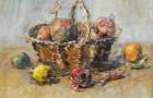 Federico Cresci  Cesto con pomi e peperoncino € 180