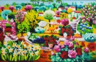 ATHOS FACCINCANI   Portofino – Geranei – 1998  € 1800 Pick Art € 1500