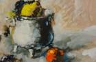 Federico Cresci  Barilotto con arancia e limone €  180