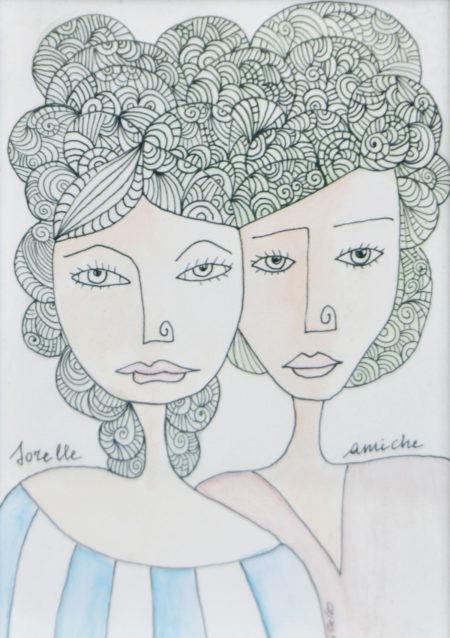 Nicoletta Calvo Le sorelle Amiche